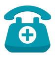 doctor on call concept vector image vector image