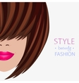 face style vector image vector image