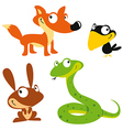 forest animals vector image vector image