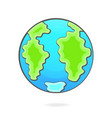 hand-drawn for earth day for your needs vector image vector image