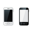 smartphone realistic mobile phone vector image vector image