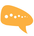 Chat service vector image