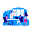 agile management team business team vector image vector image