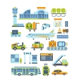 Airport Related Collection vector image