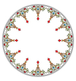 Antique ottoman turkish pattern design thirteen vector image vector image