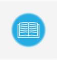 book icon sign symbol vector image vector image