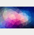 bright color polygonal wallpaper vector image vector image
