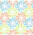 Color flower abstract vector image vector image