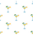Lemon cocktail icon in cartoon style isolated on