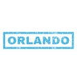 Orlando Rubber Stamp vector image vector image