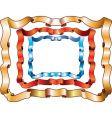 ribbon frames vector image vector image