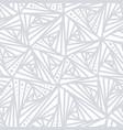 seamless light geometric pattern vector image vector image