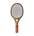 tennis racket isolated vector image vector image