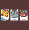 tools for home repair set banners vector image