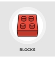 Blocks Flat Icon vector image
