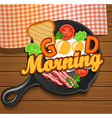 English breakfast vector image vector image