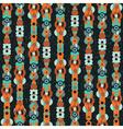 Floral Columns Pattern vector image vector image