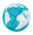 internet or globe icon vector image vector image