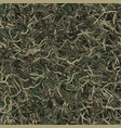 military ghillie camouflage seamless vector image vector image