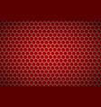 red geometric polygons background abstract vector image vector image