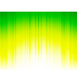 yellow green striped background vector image vector image