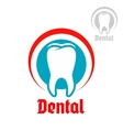 Dentistry isolated icon or emblem vector image