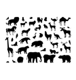 Animals Silhouettes Set vector image vector image