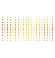 electric strike golden halftone matrix vector image vector image