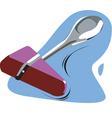 medical hammer vector image vector image