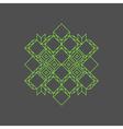 Retro Frame Vintage Decoration Element Line Art vector image vector image