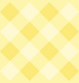 seamless yellow plaid background - checkered tile vector image vector image