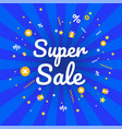 super sale banner discount banner vector image vector image