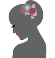 Beauty icon Woman vector image vector image