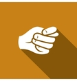 Gesture fig Hand showing a fig icon vector image vector image