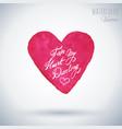 happy valentines day card design vector image vector image
