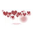 heart series design II vector image vector image