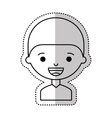 little boy character icon vector image vector image