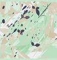 military camouflage texture with trees branches vector image vector image