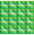 Retro seamless green pattern vector image