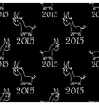 seamless pattern with goat vector image vector image