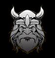 Viking design by Akos vector image vector image