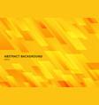 abstract modern shape yellow geometric diagonal vector image vector image
