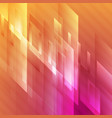 bright abstract hi-tech geometry background vector image vector image