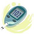 diabetes vector image