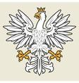 Heraldic eagle19 vector image vector image