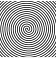 hypnotic spiral background vinyl grooves optical vector image