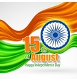 independence day india background template vector image vector image