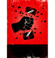 Phone red poster vector image