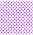 purple seamless dot pattern background - design vector image vector image