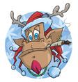 Rudolph rastaman vector image